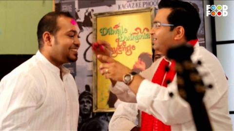 Hi Tea | Gujiya Recipe | Chef Ajay Chopra & Ehaas -The Band | Holi Special Recipes