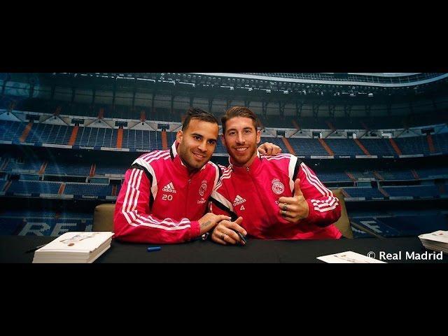 Ramos y Jesé, protagonistas de la sesión de firmas en Córdoba
