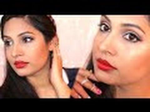 Maybelline One Brand Makeup Tutorial | Valentine's Day Special