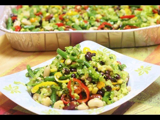 Rainbow Magic Beans Salad Video Recipe | The Best Potluck Recipe