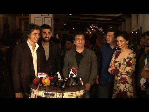 Ranbir Kapoor | Deepika Padukone Celebrate Positive Response Received For Tamasha | Event Uncut