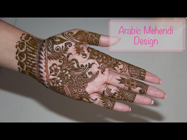 Mehndi Ke Tattoo : Diy best arabic mehendi design how to apply henna mehndi