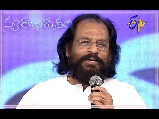 KJ Yesudas Speech in ETV Swarabhishekam (23rd February 2014)