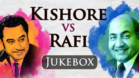 Kishore Vs Rafi na kum na zyaada - Best Evergreen Old Hindi Songs Video JUKEBOX