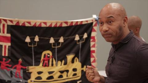 Gus Casely-Hayford on Fante Asafo Flags | Artist & Empire
