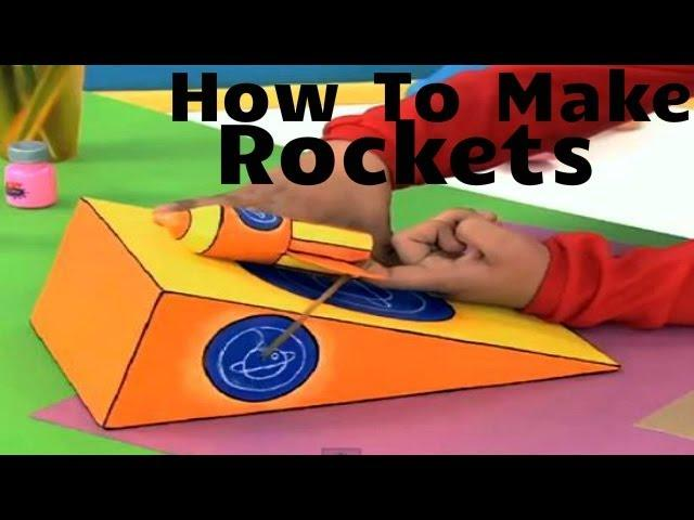 How To Make A Rocket! - Art Attack - Disney India Official