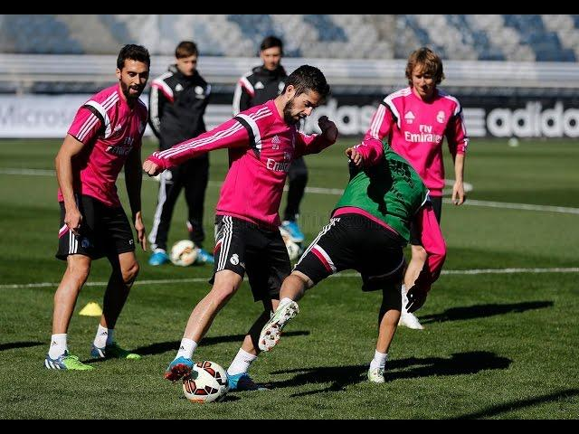Entrenamiento / Training session 04/03/2015