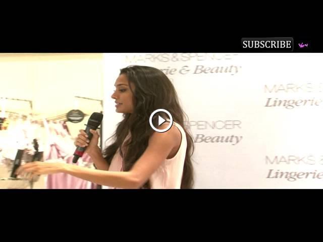 31c4931ec Lisa Haydon launches Marks   Spencer inner wear