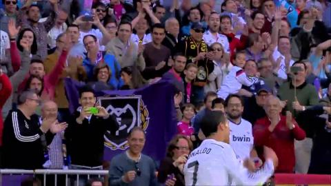 Real Madrid's Cristiano Ronaldo scores FIVE GOALS against Granada!