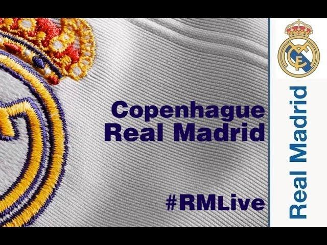 #RMLive - ONCE INICIAL / LINE UP: Copenhagen-Real Madrid
