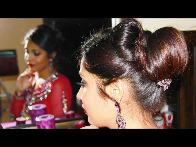 Indian Bridal Judaupdo Hairstyle Tutorial
