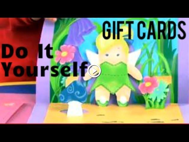 Art attack diy pop up gift cards disney india official solutioingenieria Images
