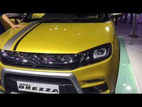 Maruti Vitara Brezza in Video: Delhi Auto Expo 2016