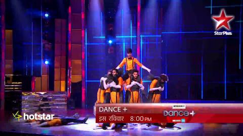 Question Mark impresses Remo D'Souza with their super moves on Dance+