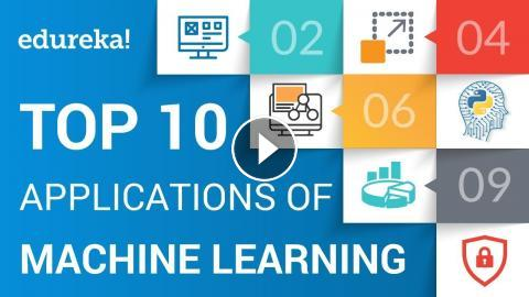 Top 10 Applications of Machine Learning | Machine Learning