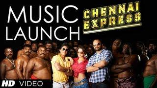 Chennai Express Music Launch | Shahrukh Khan, Deepika Padukone, Rohit Shetty
