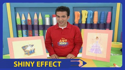Art attack do it yourself basketball hoop disney india official art attack shiny effect disney india official solutioingenieria Images