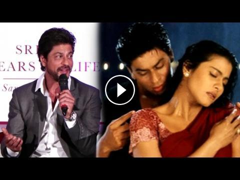 Shahrukh Khan Making Fun Of His Own Dialogue In Kuch Kuch Hota Hai Movie