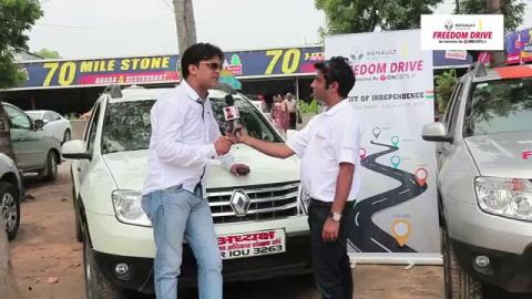 Renault Freedom Drive - an Interaction with a Duster fan
