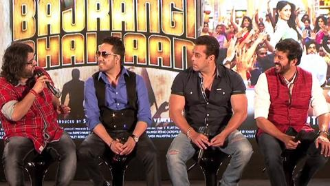 Grand Audio Launch Of 'Aaj Ki Party' From 'Bajrangi Bhaijaan'
