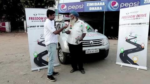 Renault Freedom drive - What does a local man of Ludhiana thinks about freedom