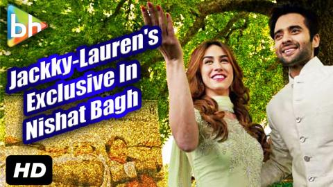 Exclusive: Jackky-Lauren's Interview On Welcome To Karachi In Nishat Bagh