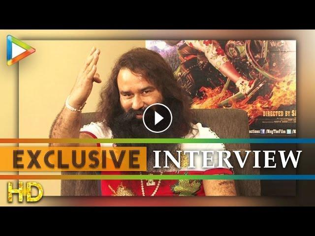 Gurmeet Ram Rahim Singh Ji Insan's Hard Hitting Interview On