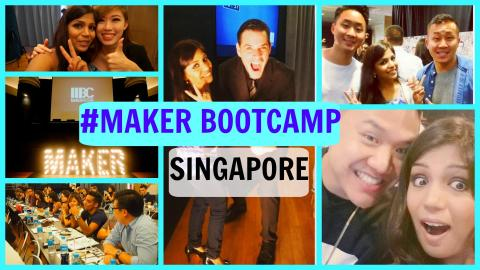 Maker Bootcamp 2015 | Top Asian Youtuber Workshop with the AIB Team, Wah Banana & Others