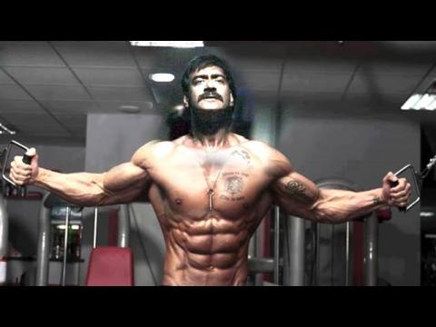 Ajay devgan gym body building workout tips altavistaventures Image collections
