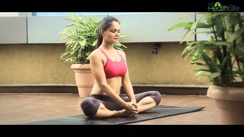 Baddha Konasana || Yoga during pregnancy with HealthifyMe