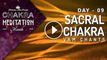 Chakra Seed Mantra Chants | SACRAL CHAKRA