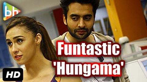 Jackky Bhagnani | Lauren Gottlieb's Funtastic Visit At Hungama Office