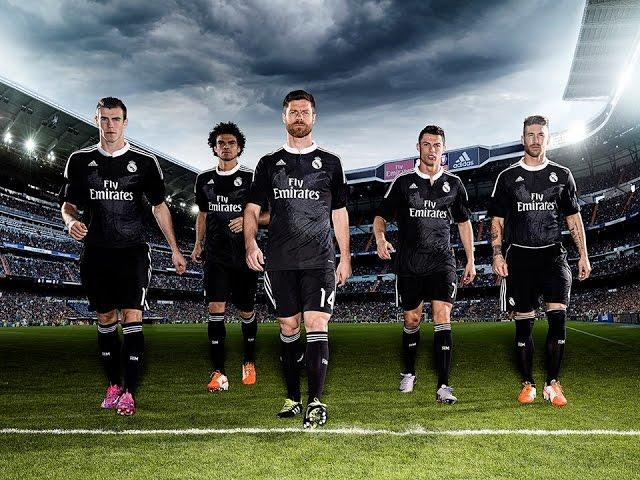 Presentation of Real Madrid Champions League strip