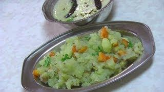 Sabudana or Sago Khichdi recipe for Upvas - Spicy Tapioca recipe for Fasting
