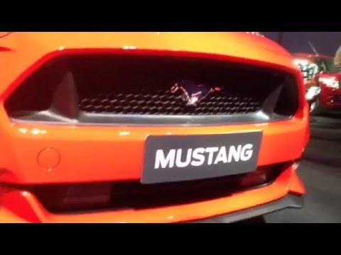 Ford Mustang India : First Look