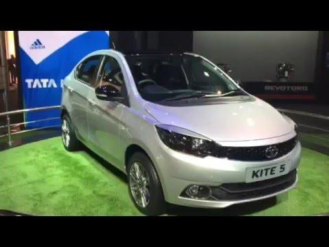 Tata Kite 5 Compact Sedan Video: Delhi Auto Expo 2016