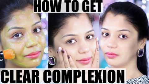 How To Get Clear Complexion & Clear Skin in 1 Week | SuperPrincessjo