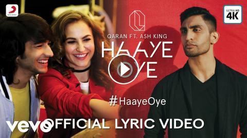 Official Lyric Video|QARAN ft  Ash King|Elli AvrRam|Shantanu