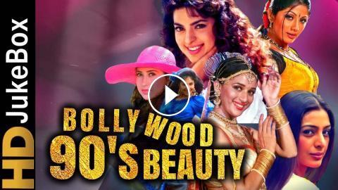 Bollywood 90's Beauty   90's Most Romantic Songs   Hindi