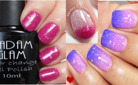Vegan Friendly, Cruelty Free Pro Gel Polish at Home! Chameleon Gel Polishes from Madam Glam