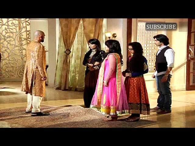 On location of serial Qubool Hai | 30th January