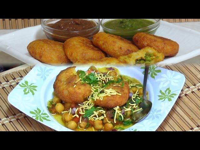 Veg 65 recipe street food china town part 3 chole tikki chaat recipe video by bhavna indian street foodsnacks collaboration forumfinder Choice Image