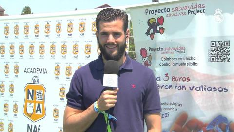 Nacho habló para Realmadrid TV sobre la final de la Champions League