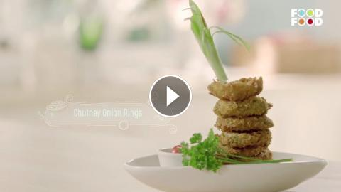 Chutney onion ring namkeens nation rakesh seth foodfood check this video where chef rakesh seth quickly and easily makes a chutney onion ringodfood is now in the usa on dish network at channel no 713 pl forumfinder Images