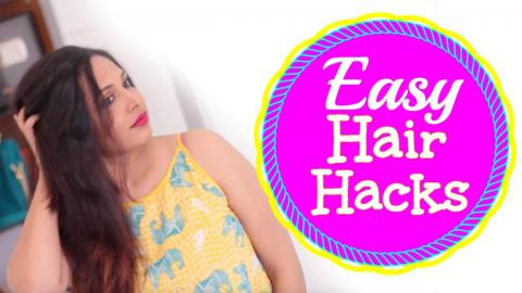 Hair Hacks For Long Hair