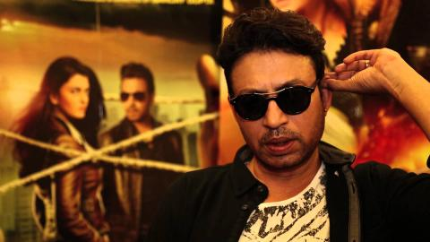 Jazbaa Star Irrfan Khan Speaks about his Chemistry with Aishwarya Rai Bachchan