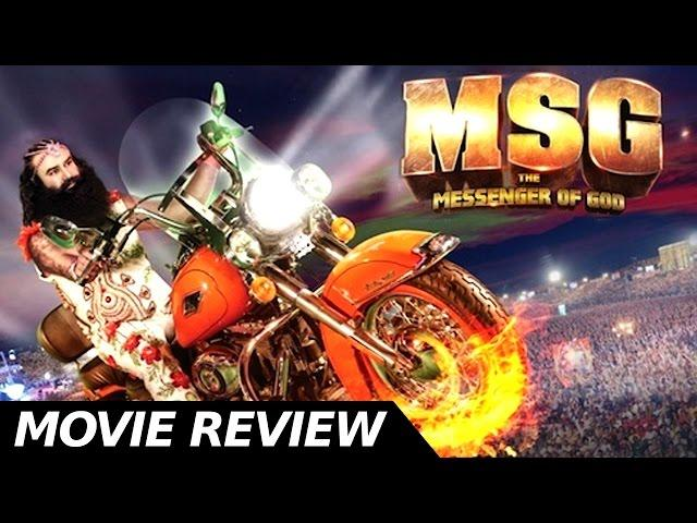 MSG -  Full Movie Review - Gurmeet Ram Rahim Singh - Bollywood Movie Reviews