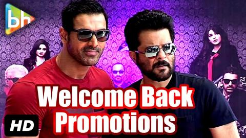 John Abraham | Anil Kapoor  Promote 'Welcome Back' At Reliance Digital