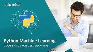 Deep Learning With Python   Deep Learning Tutorial For Beginners