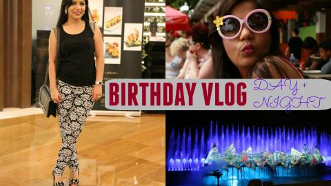 MY Birthday Celebration VLOG | Punjab Grill,Punjabi Dinner,Marina Bay Sands & Sentosa Tour